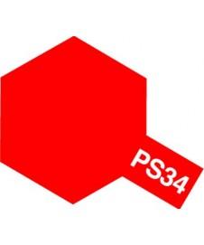 PINTURA PARA POLICARBONATO PS-34, ROJO BRILLANTE