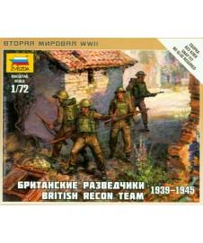 BRITISH RECONNAISSANCE TEAM WWII