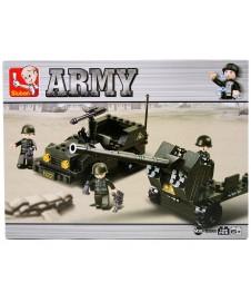 CAÑON CON JEEP ARMY I