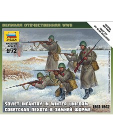 SOVIET INFANTRY WINTER