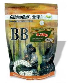 bolsa 1 kg. Bolas 0,20 g biodegradable