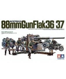 German 88 Mm Gun Flack 36/37