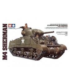 Tanke M4 Sherman Primera Version