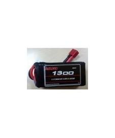 Bateria Lipo 11.1 V 1300 Ma