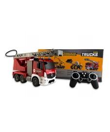Camion Bomberos Rc. Con Bateria Y Cargado