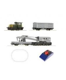 Set Inicio Loco Diesel 214,4 Vagon Grua
