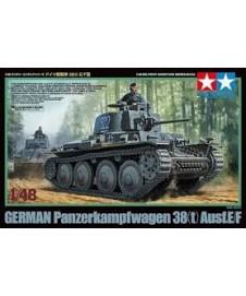 Tanque Aleman Pzkpfw 38