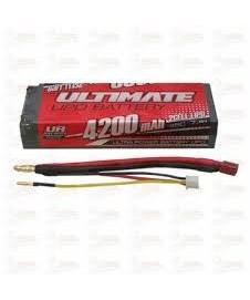 Bateria Lipo 7,4 V. 4200 Ma. 45c.