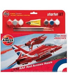 Red Arrow Hawk Con Pinturas