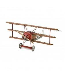 Maqueta Madera En Kit, Fokker Dr.j El Varon Rojo.