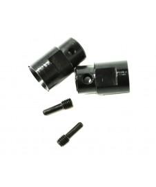 Vaso Diferencial 6x13x20mm Negro (2pcs) (savage)
