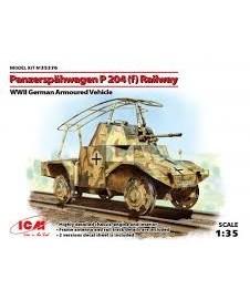 Panzerspahwagen P 204 Railway