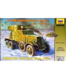Ba-3 1934 Soviet Wwii Armored Car