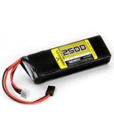 Bateria Lipo 7.4 2500 Ma Receptor Plana