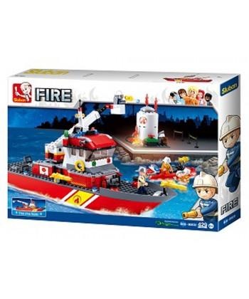 Fireboat + Oil Tank