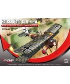 Avion Halberstadt Cl.ivhfw Aleman 1º Guerra
