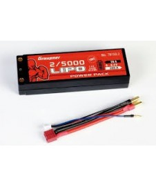 Bateria Lipo 7,4 5000 Ma. 100 C. Caja Dura