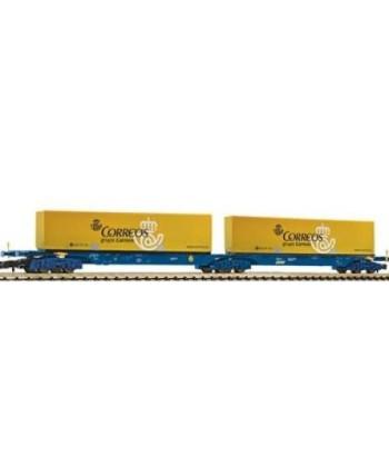 Vagon Plataforma Contenedor Correos