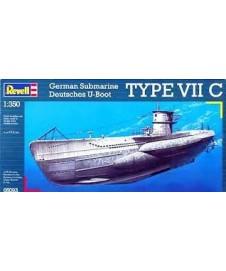 Submarino Aleman Type Vii C