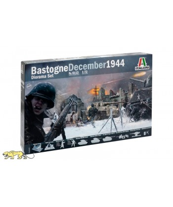 Diorama December 1944 Bastogne