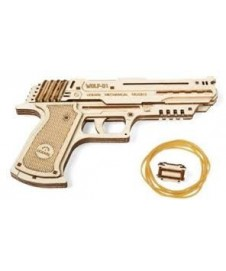 Pistola En Kit De Madera