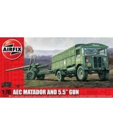 """Aec Matador & 5,5"""" Gun"""
