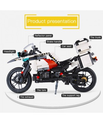 Kit Bloques Moto Patrol