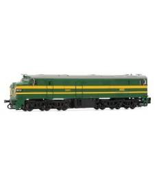 Locomotora Diesel Renfe 316 Verde Epoca Iv