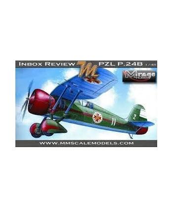 Pzl P.24b Yastreb Fighter