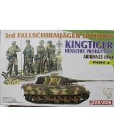 Fallschirmjager Division + Kingtiger Ardennes Part 2