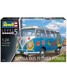Samba Bus Flower Vw