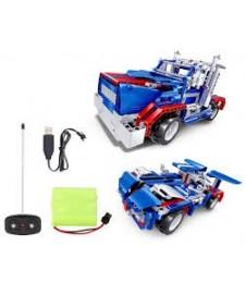 Vehiculo En Kit 2 En 1 Con Radio Control