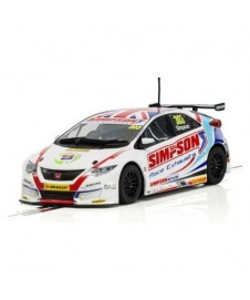 Btcc Honda Civic Type R British Touring Matt Simpson