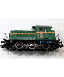 Locomotora Diesel 303, Verde Y Amarilla