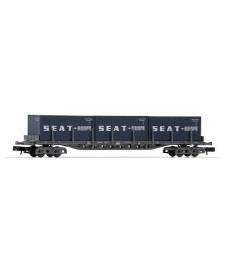 Vagon Plataforma Rgs Renfe Contenedor Seat 20