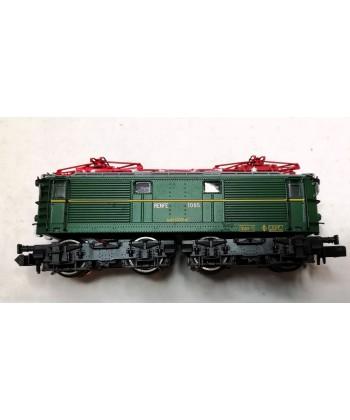 Locomotora Renfe E1003 Con Uic