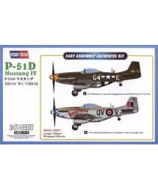 P-51d Mustang Iv Easy Assembly