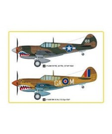 P-40m Kitty Hawk Easy Assembly