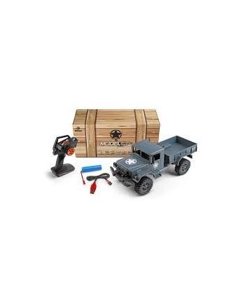 Camion Militar Verde Rc. 1/12