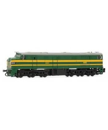 Locomotora Renfe 316 Verde Y Amarillo