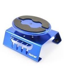 Soporte Giratorio Car Aluminio Azul