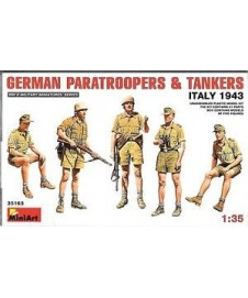 German Paratroopers & Tankers Italy 1943