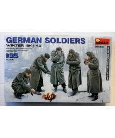 German Soldiers Winter 1941-42