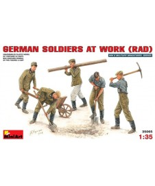 German Soldiers At Work