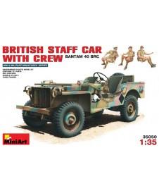 British Staff Car W. Crew