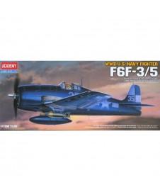 1/72 F6f-3/5 Wwii U.s. Navy Fighter