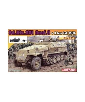 KFZ.251 AUSF.C + 3,7 cm PAK 35/36