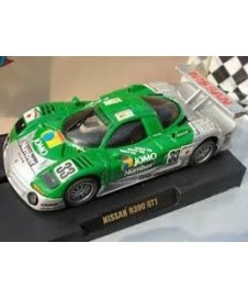 NISSAN R390 GT1 33 VERDE PLATA