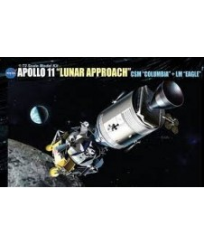 "APOLO 11 "" LUNAR APPROACH"""