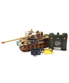 TANQUE TIGER GERMAN MARRON, CON BAT. Y CARGADOR
